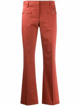 L'Autre Chose - укороченные расклешенные брюки 66595653939355630000