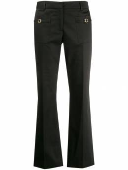 L'Autre Chose - укороченные расклешенные брюки 66595653939355660000