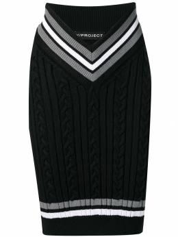 Y/Project - трикотажная юбка IRT9S96M960939358390