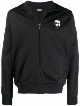 Karl Lagerfeld - куртка-бомбер 60859996993993658000