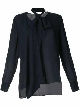 Elie Tahari блузка с завязкой ED10N508