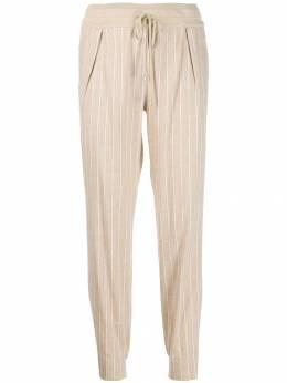 Lorena Antoniazzi - зауженные брюки в полоску 593PA900909956636660