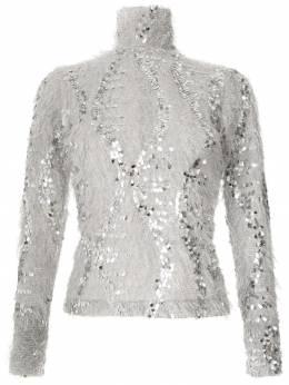 Gloria Coelho - блузка с пайетками T6699366503600000000