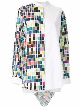 Gloria Coelho - рубашка с принтом и капюшоном C663B935996950000000