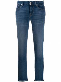 7 For All Mankind - джинсы кроя слим с выцветшим эффектом J8836EA9560055000000