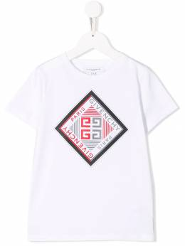 Givenchy Kids футболка с логотипом H25143