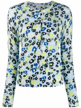 Escada Sport рубашка с цветочным принтом 5030762