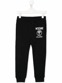 Moschino Kids - спортивные брюки с логотипом 633LDA96959699050000