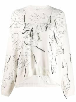 MCQ by Alexander McQueen свитер с бахромой 550394RNK11