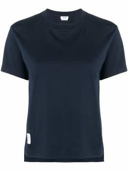 Thom Browne - свободная футболка джерси с короткими рукавами 636A6539893558606000