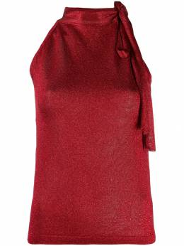 Missoni блузка с завязками на воротнике MDK00024BK0281