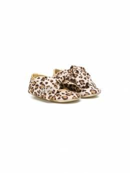 Monnalisa - балетки с леопардовым принтом 60956389506358600000
