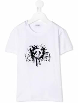 Dolce & Gabbana Kids - футболка с графическим принтом T3LG3QZM936963560000