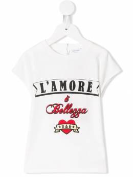 Dolce & Gabbana Kids - футболка L'Amore E Bellezza TCVG3RMD933596300000