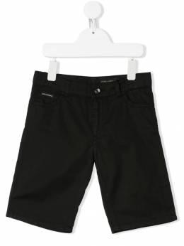 Dolce & Gabbana Kids - джинсовые бермуды Q36LY633936558950000