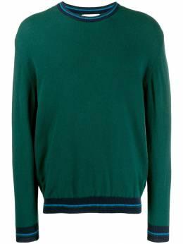 Pringle Of Scotland свитер с контрастной отделкой MTG057