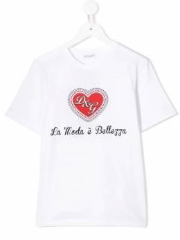 Dolce & Gabbana Kids - футболка с принтом TCGG3RYN933339990000
