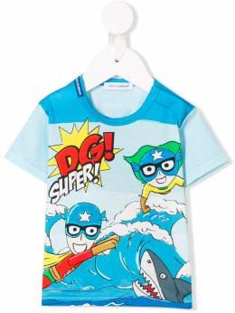 Dolce & Gabbana Kids - футболка 'DG Super' T6NG3QXA935960960000