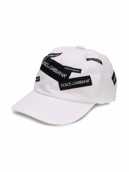 Dolce & Gabbana Kids - кепка с нашивками H59G3RSC939588800000