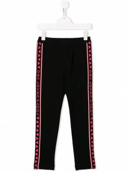 Dolce & Gabbana Kids - легинсы с лампасами P5EG3RSJ938063090000
