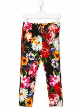 Dolce & Gabbana Kids - леггинсы с цветочным принтом P5EFSGQF938658560000