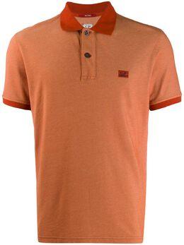 CP Company - рубашка-поло с вышитым логотипом MPL996A666933G950539