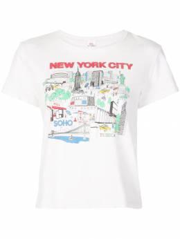 Re/Done - футболка New York City 0WCGT969509050900000