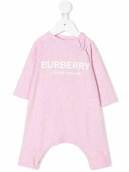 Burberry Kids боди с логотипом 8013869