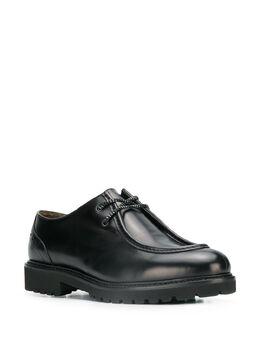 Doucal's - туфли с ребристой подошвой 933PHILUT683NN669569