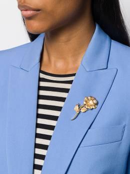 Susan Caplan Vintage - брошь Trifari 1960-х годов в форме розы 58995005393000000000