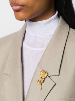 Susan Caplan Vintage - брошь Trifari 1960-х годов в форме розы 86995005569000000000