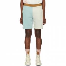 Lacoste Blue and Off-White Golf le Fleur* Edition Bermuda Shorts 192268M19300207GB