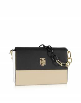 TH Crossover Bag - Сумка из Эко Кожи Tommy Hilfiger AW0AW06808 902 BEET RED MIX