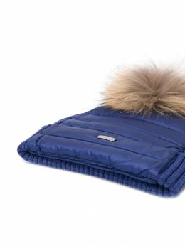 Herno Kids - шапка с помпоном из искусственного меха 669B9060695060398000