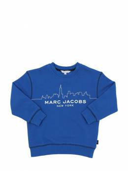 Свитшот Из Хлопка С Принтом Little Marc Jacobs 70IFGE049-ODFM0