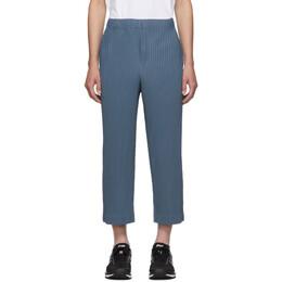 Homme Plisse Issey Miyake Blue MC June Trousers 192729M19102803GB