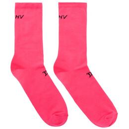Misbhv Pink Logo Socks 192937M22000102GB