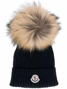 Moncler Kids - вязаная шапка 966565S6993355635000