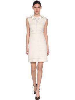 Платье Из Хлопкового Твида Giambattista Valli 70IA4A009-MTIwMA2