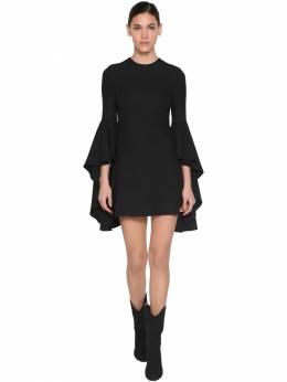 Короткое Платье Из Вискозного Крепа Giambattista Valli 70IA4A002-OTk5OQ2