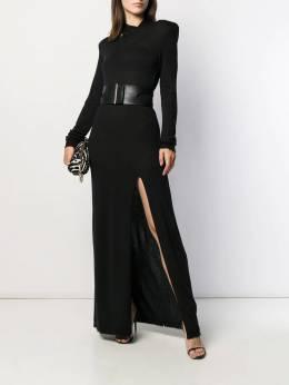 Unravel Project - платье макси с разрезом на воротнике I693E993066699666953