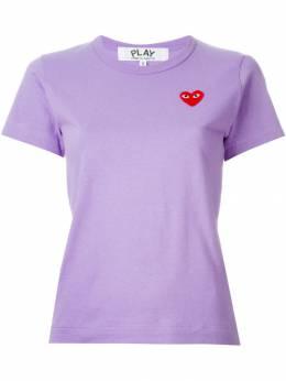 Comme Des Garçons Play - футболка с нашивкой в форме сердца 09999083603000000000