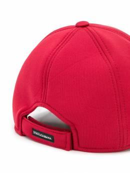 Dolce & Gabbana Kids - бейсбольная кепка с нашивкой-логотипом H58G3THW950898930000