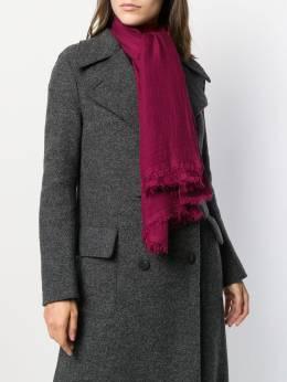 Faliero Sarti - шарф с бахромой 00669508836900000000