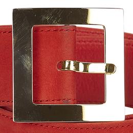 Dior Nubuck Leather Belt