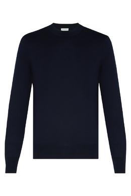 Темно-синий пуловер Sandro 914143322