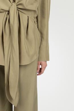 Блуза с длинными завязками Roberto Cavalli 314143296