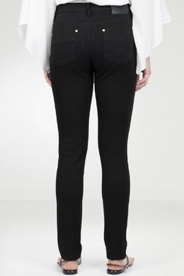Узкие черные джинсы Roberto Cavalli 314143274
