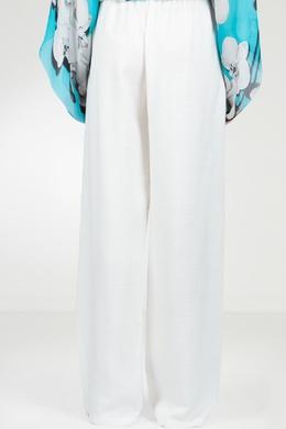 Широкие брюки белого цвета Roberto Cavalli 314143270