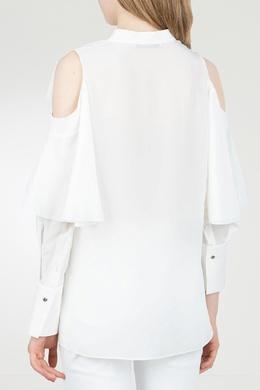 Блуза с воротником-стойкой Roberto Cavalli 314143255
